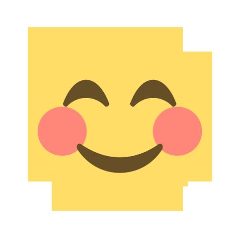 Glücklicher User Emoji