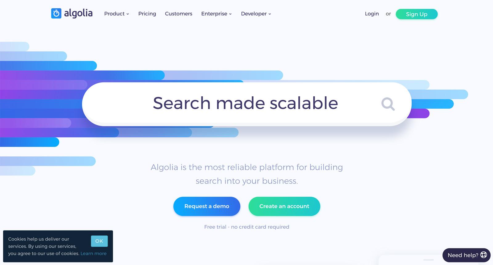 Algolia - Search Cloud - Alternative zur Google Custom Search