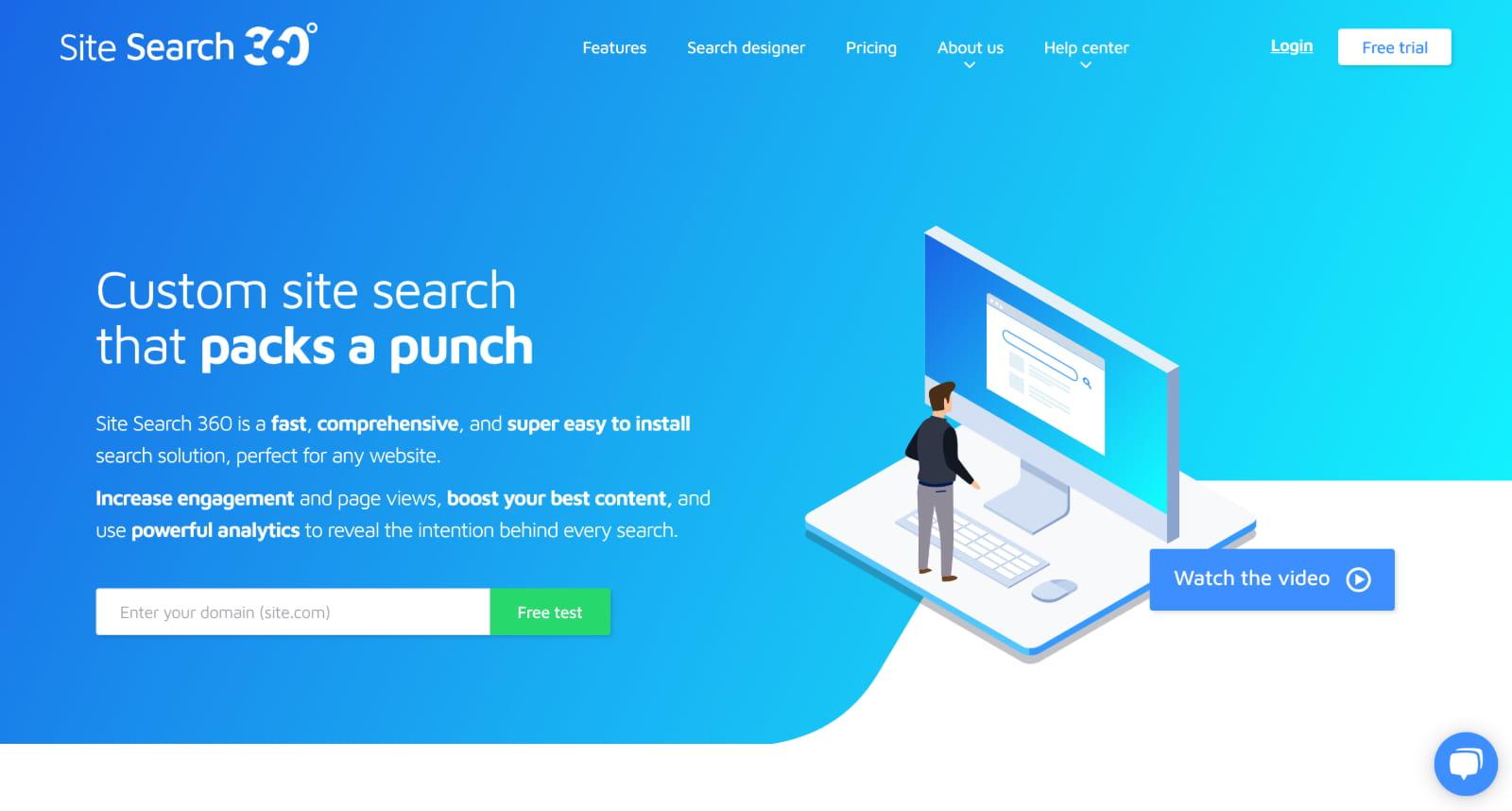 Site Search Alternative 360