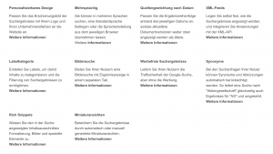 GSS Feature und Funktionen